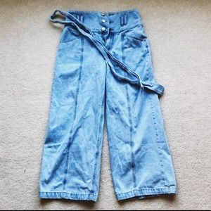 Denim - brand new wide cut jeans